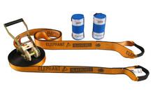 Elephant Slacklines Wing 3.5-Set 15 m orange